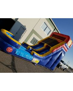 14' Straight Wet/Dry slide - 18412