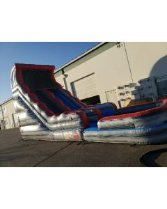 18' Marble Gray Straight Wet/Dry slide - 18379