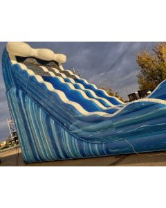 24ft Dual Lane Wet/Dry slide - 18419