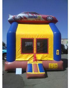 Race Car Bounce House - 3012