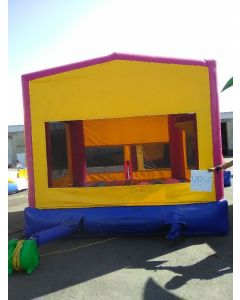 Modular Pink Bounce House - 17853