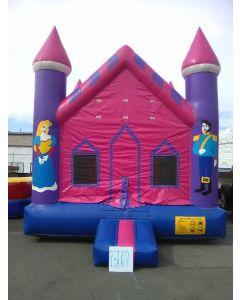 Princess Castle Bounce House - 15167