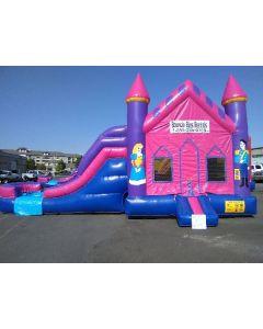 2 Lane Princess Castle Combo - 13229