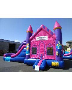 2 Lane Princess Castle Combo - 14259