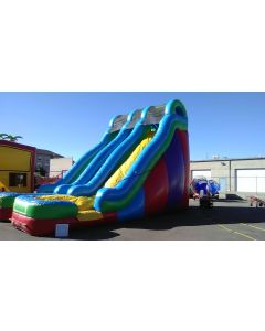 24' Dual Lane Wet/Dry Slide - 14355