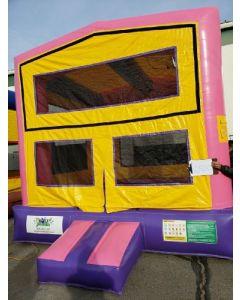 Modular Pink Bounce House - 16830