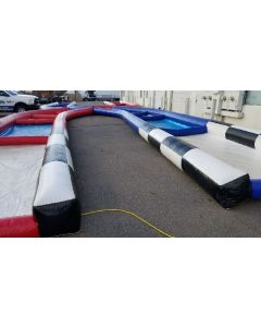 Inflatable Zorb Ball Track - 105'
