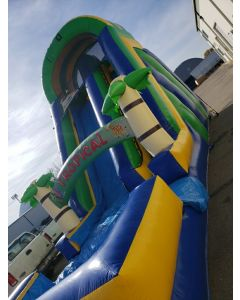 18' Tropical Wet Dry slide - 16773