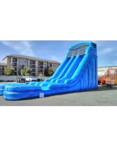 24' Dual Lane Wet/Dry Slide - 18370
