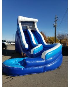 18' Wave Curve Wet/Dry slide - 18408
