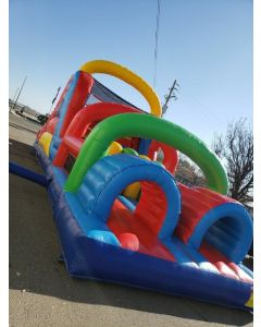 40' Obstacle Course Wet/Dry - 19625