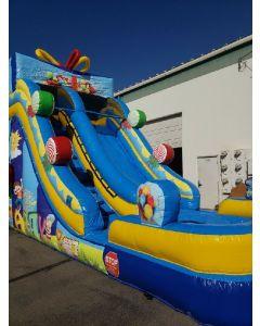 18' birthday slide wet/dry - 18409