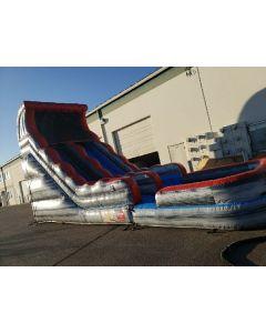 18' Marble Gray Straight Wet/Dry slide - 18379