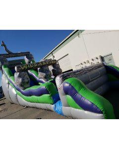 18' Wild Rapids slide wet/dry - 3219