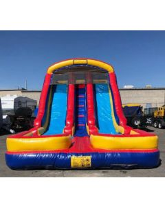 18' Dual Lane Wet/Dry slide - 14356