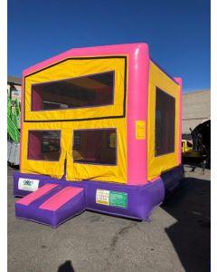 Modular Pink Bounce House - 16812