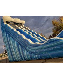 24ft Dual Lane Wet/Dry slide - 18419
