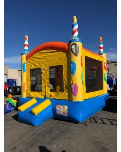 Birthday Cake Bounce House - 19878