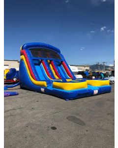 18ft Dual Lane Wet/Dry slide - 18392