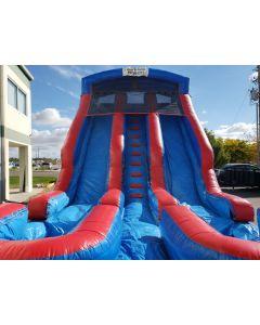 18' Dual Lane Wet/Dry slide - 16310
