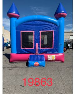 Pink Castle Bounce House - 19863