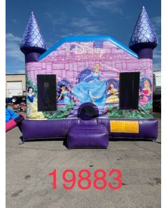 Disney Castle Bounce House - 19883