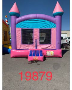 Pink Castle Bounce House - 19879