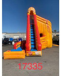 27' Volcano Wet/Dry Slide - 17335