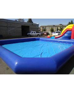 30x30 Inflatable pool