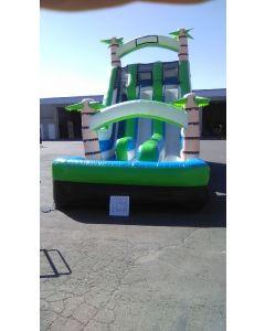 18' Adventure Island Wet/Dry Slide - 17353