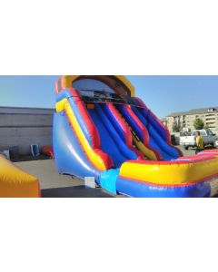 18ft Dual Lane Wet/Dry slide - 18392, 18342