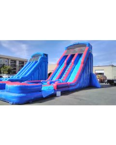 27' Dual Lane Wet/Dry slide - 17336