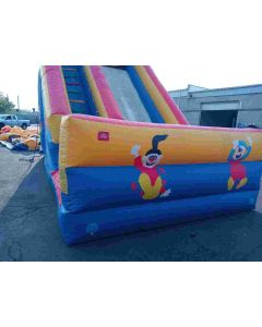 18' Front Load Clown Dry Slide