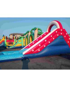 16' USA Waterslide