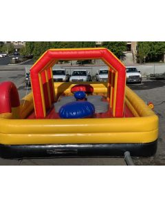 Wrecking Ball Square Inflatable Game