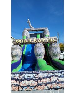 18' Wild Rapids slide wet/dry - 3219