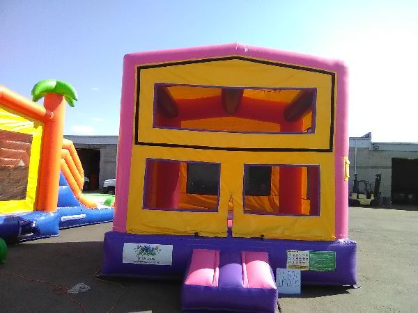 Magnificent Modular Pink Bounce House 16826 Home Interior And Landscaping Ferensignezvosmurscom