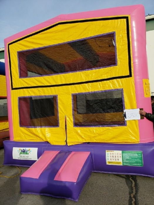 Phenomenal Modular Pink Bounce House 16830 Home Interior And Landscaping Ferensignezvosmurscom